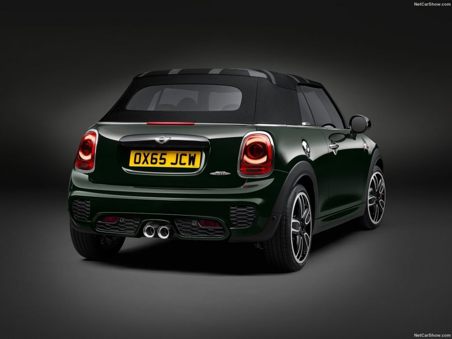 Mini John Cooper Works Convertible cars 2016 wallpaper