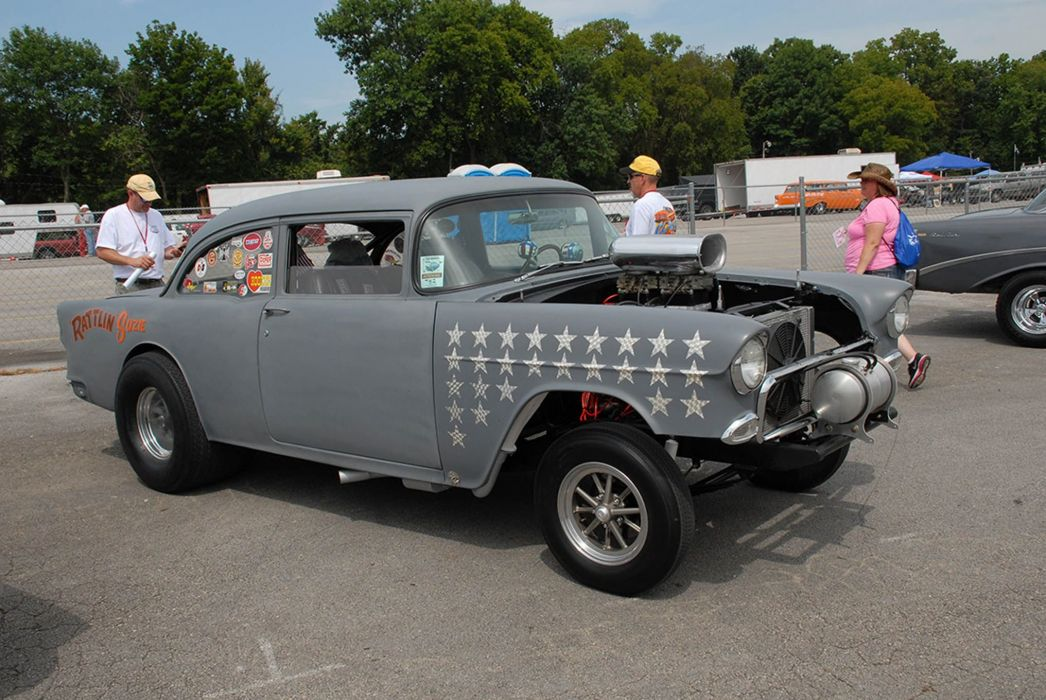 GASSER drag racing race custom hot rod rods wallpaper