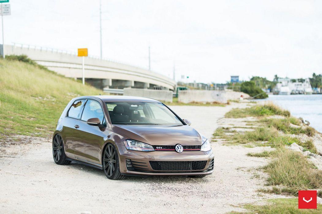 Volkswagen GTI cars Vossen Wheels wallpaper