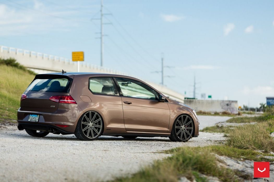 Volkswagen GTI cars Vossen Wheels wallpaper