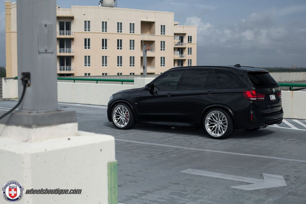BMW X5M black suv cars hre Wheels wallpaper
