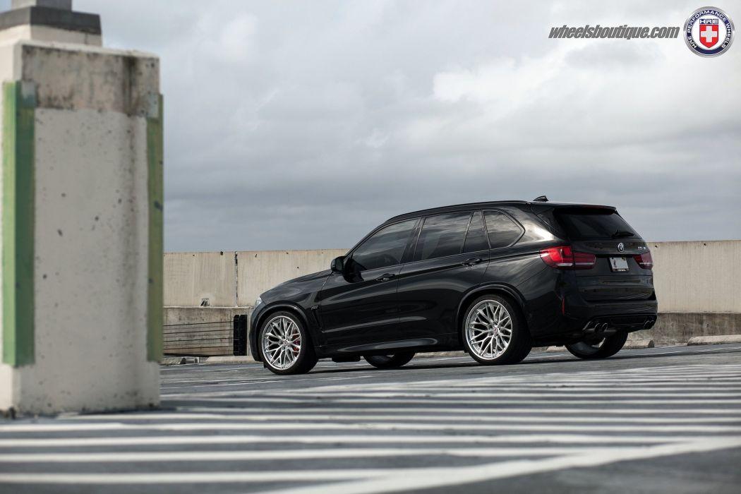 BMW X5M black suv cars hre Wheels wallpaper
