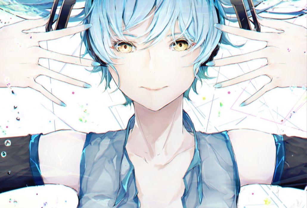 cropped hatsune miku marumoru vocaloid wallpaper