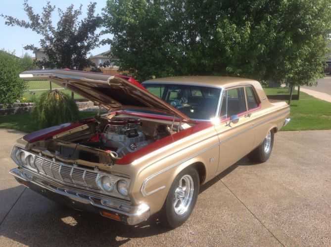 1964 Plymouth Belvedere Max Wedge wallpaper