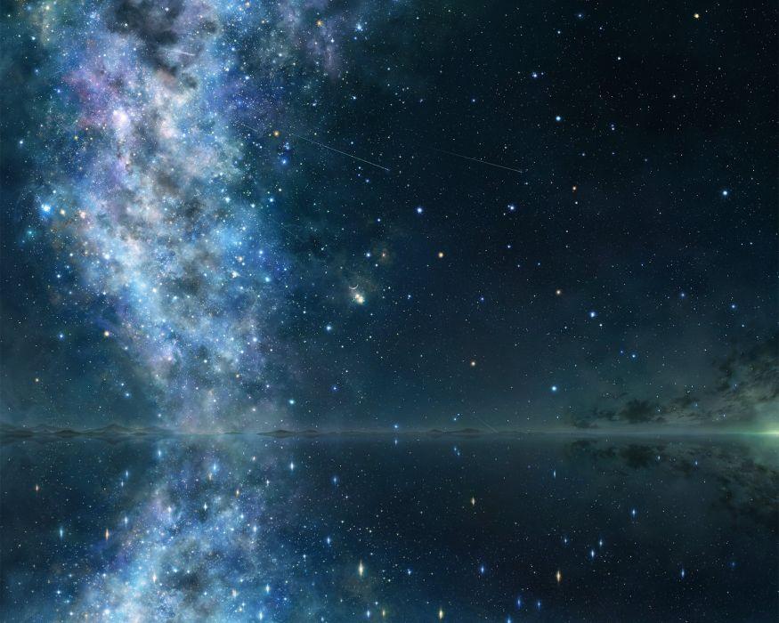 cropped iy tujiki night original scenic stars wallpaper