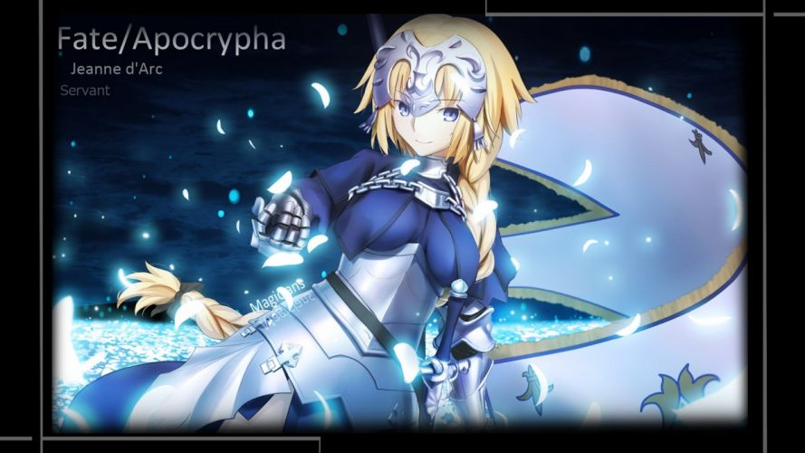 armor blonde hair fate grand order magicians ruler (fate apocrypha) wallpaper