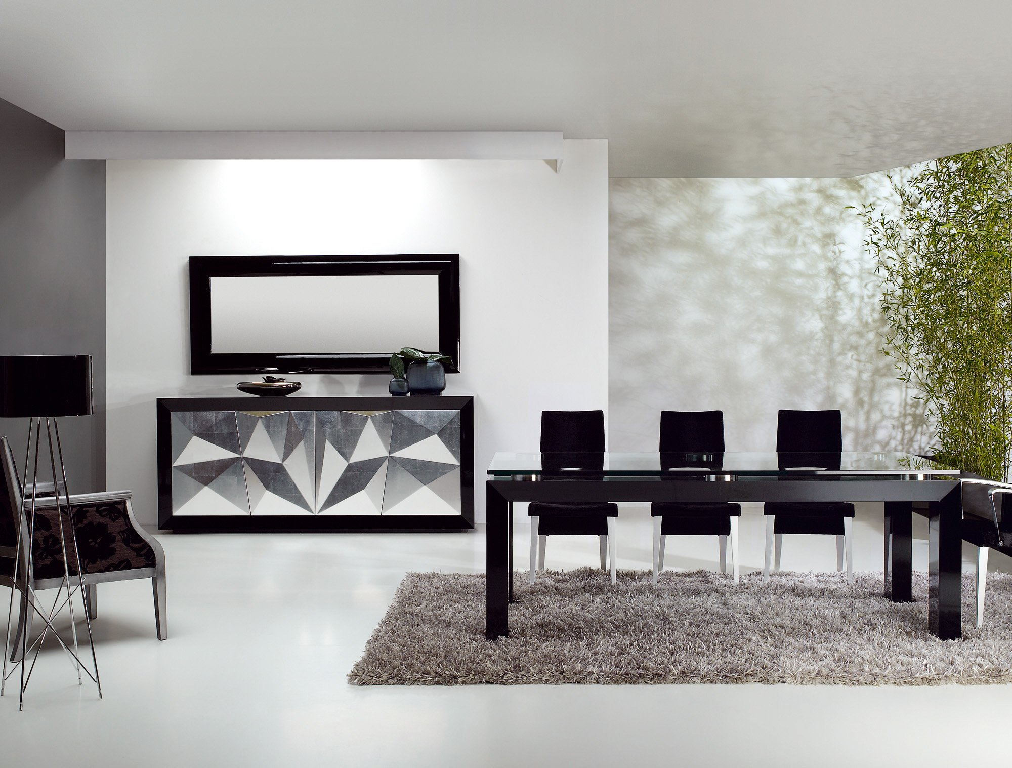 Salon comedor de diseo affordable decoracion salon for Comedor grande moderno