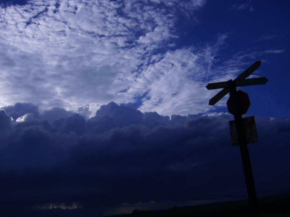 sky blue clouds sign train wallpaper
