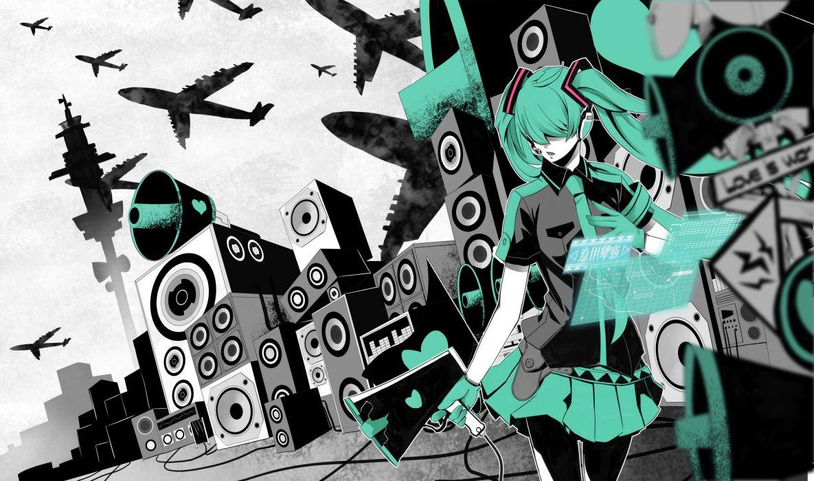 hatsune miku koi wa sensou (vocaloid) vocaloid wallpaper