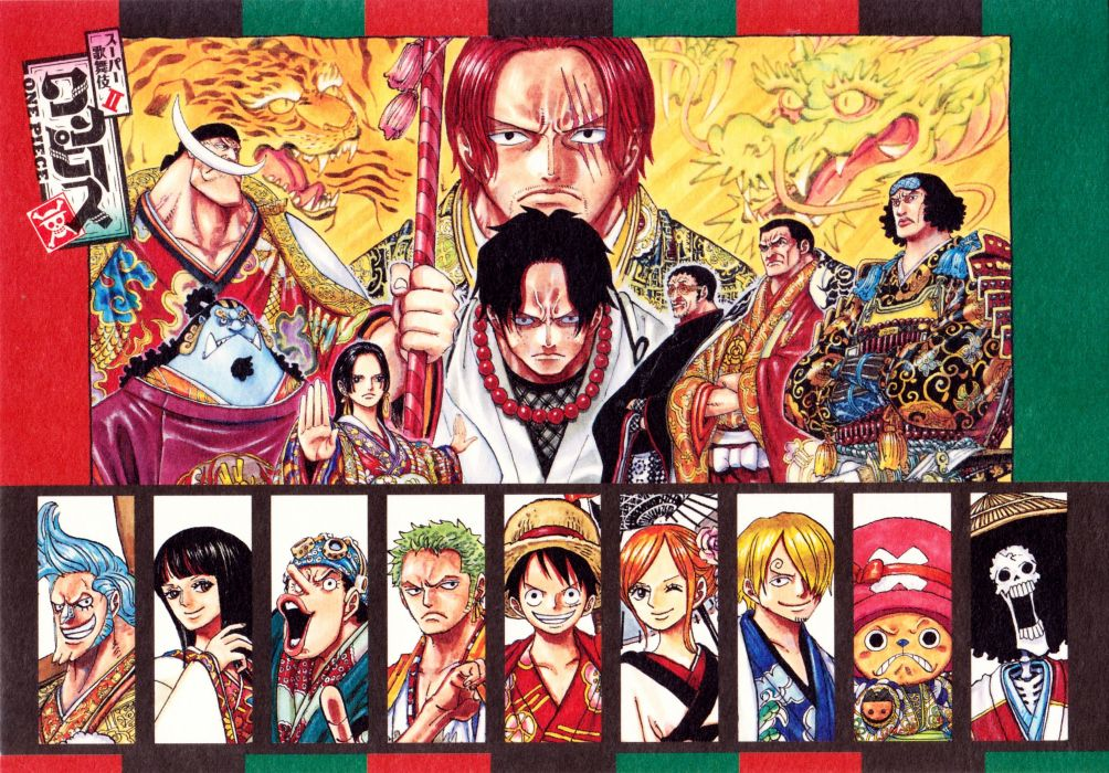 ONE PIECE Roronoa Zoro Boa Hancock Shanks Borsalino wallpaper