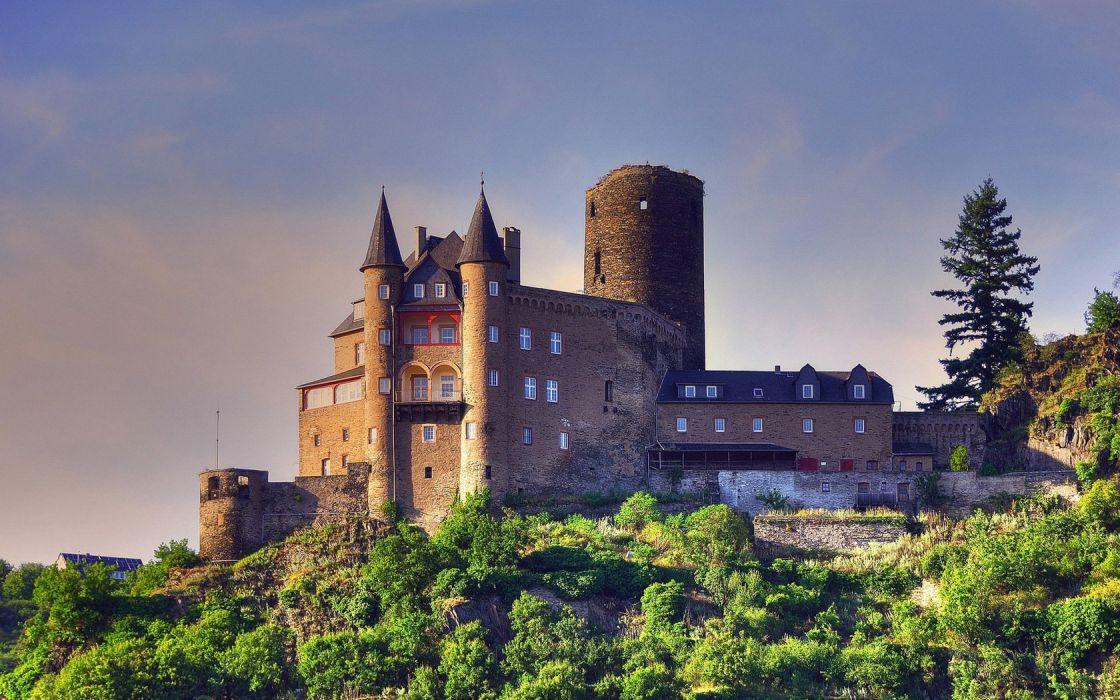 arquitectura castillo alemania arboles wallpaper