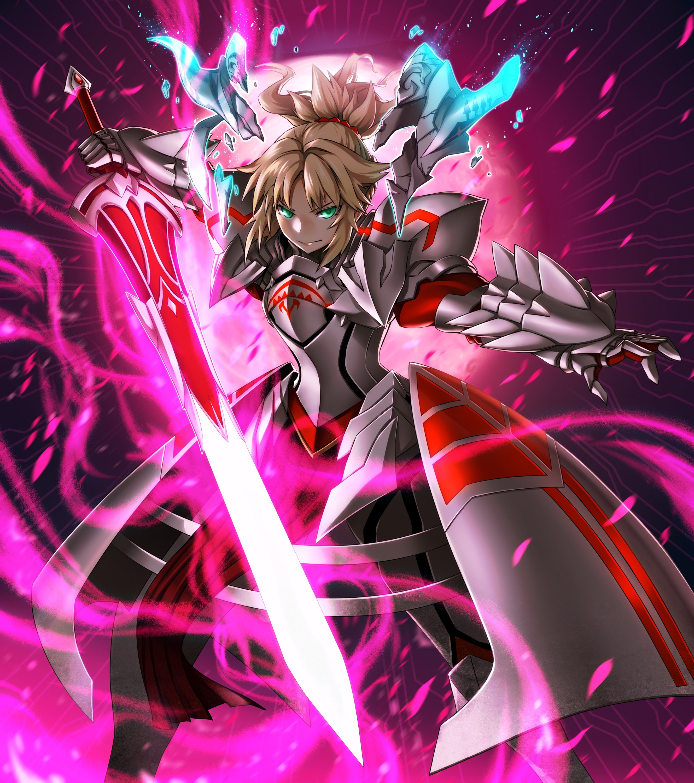 Fate Grand Order Red Saber Wallpaper 2657x3000 878107