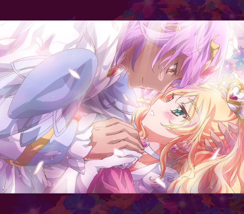 Go! Princess Precure Cure Flora Haruno Haruka Prince Kanata Prince wallpaper