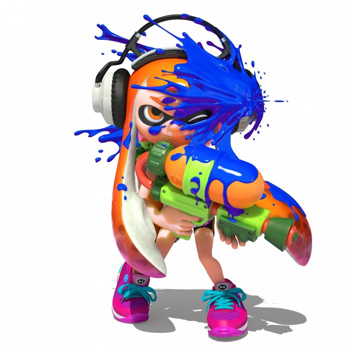 Nintendo Splatoon Inkling wallpaper