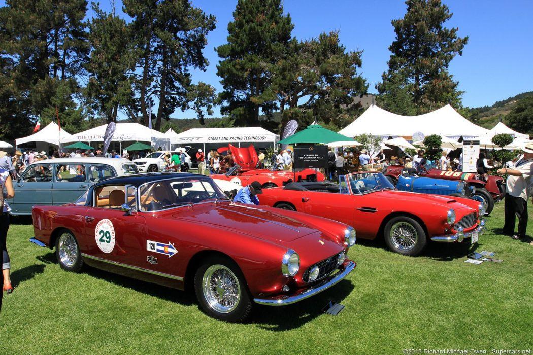 Ferrari 250 GT Boano Coupe cars classic wallpaper