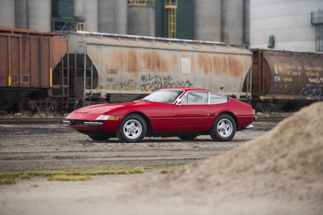 Ferrari 365 GTB-4 Daytona cars coupe wallpaper