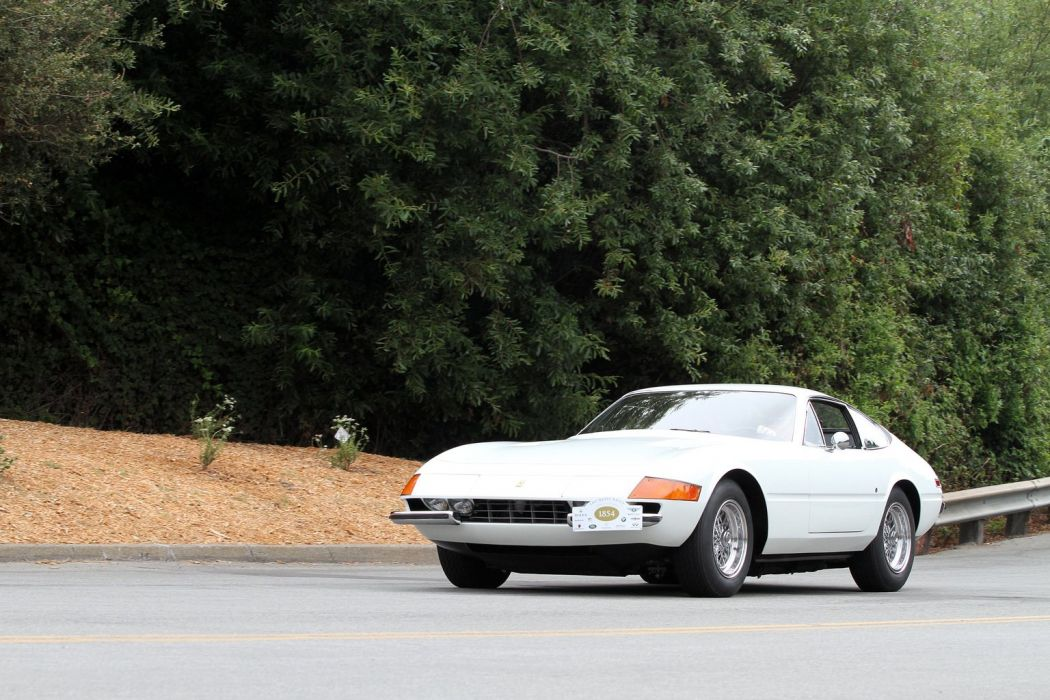 Ferrari 365 GTB-4 Daytona cars coupe wallpaper