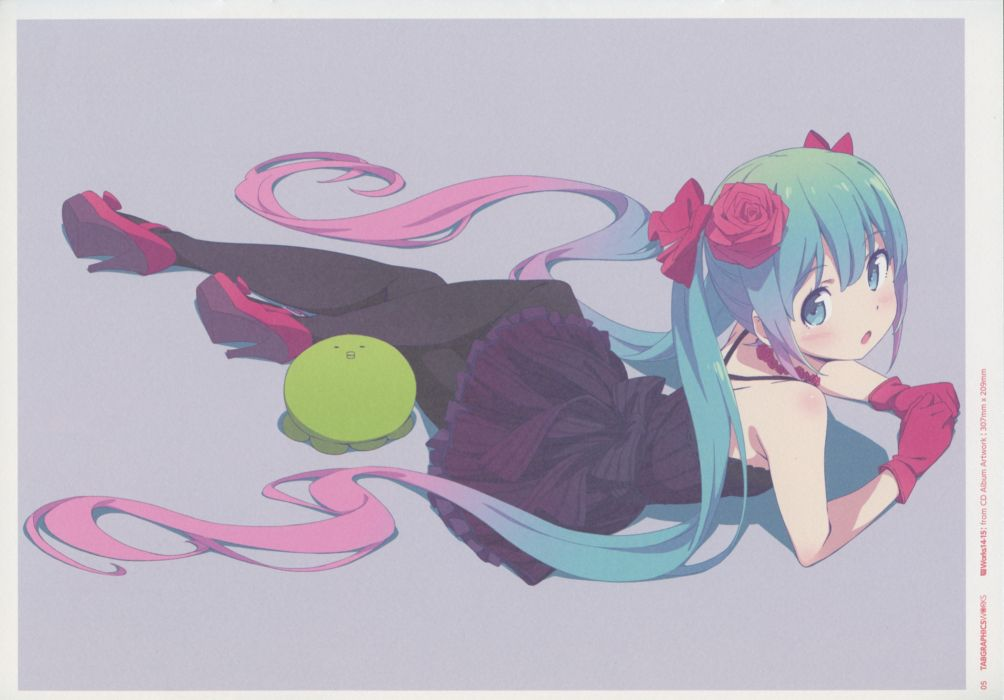 Vocaloid Hatsune Miku f wallpaper