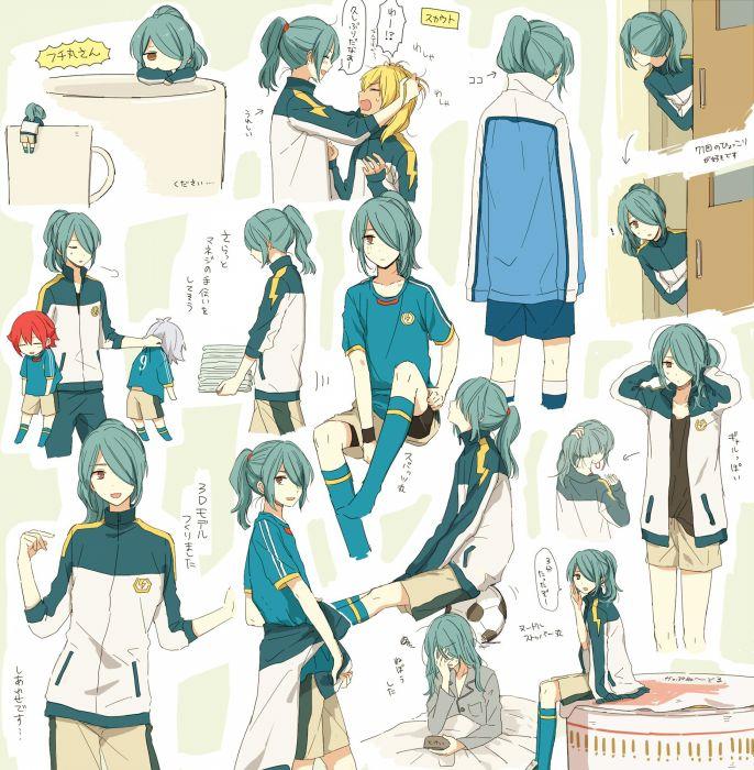 Inazuma Eleven Miyasaka Ryou Fubuki Shirou Kazemaru Ichirouta Kiyama Hiroto wallpaper