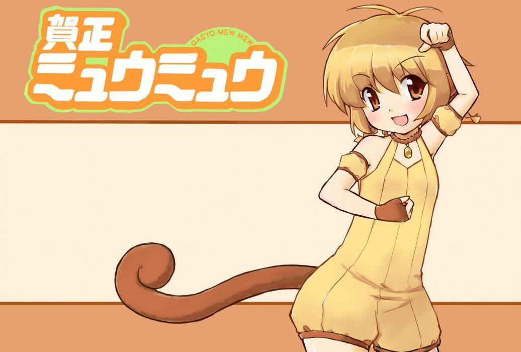 Tokyo Mew Mew Mew Pudding Pudding Fon Pendant Logo wallpaper