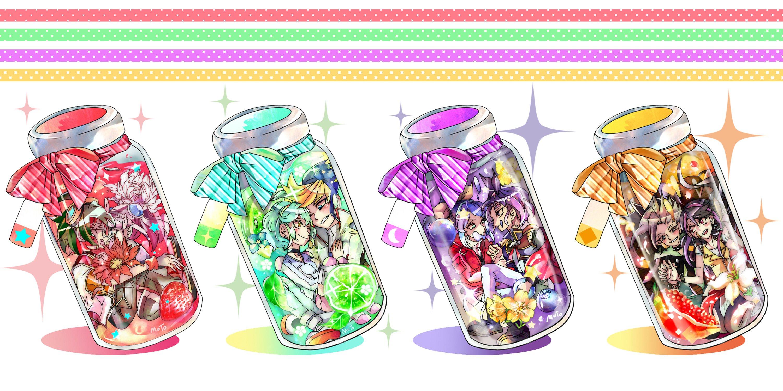 Yu Gi Oh Arc V Hiiragi Yuzu Kurosaki Ruri Sakaki Yuya Wallpaper X  Wallpaperup
