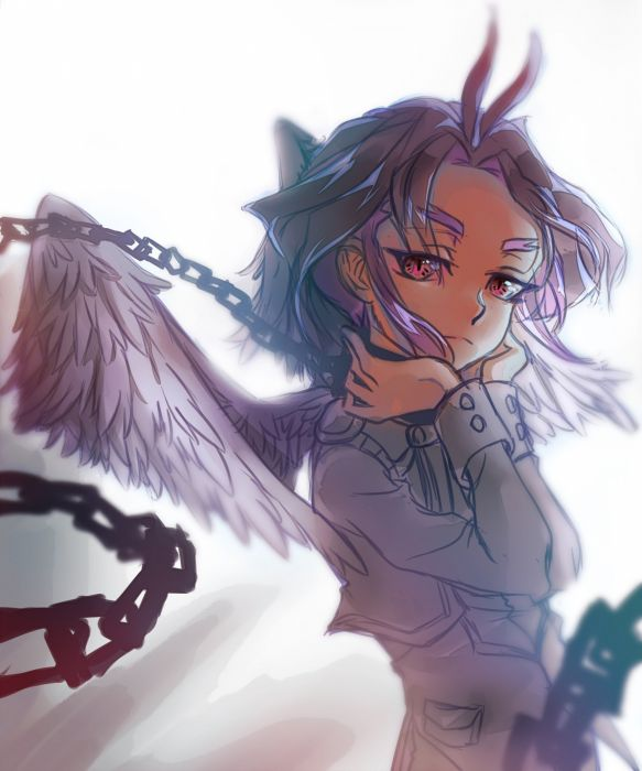 Yu-Gi-Oh! ARC-V Yuri (Yu-Gi-Oh! ARC-V) Feather Wings White Wings wallpaper