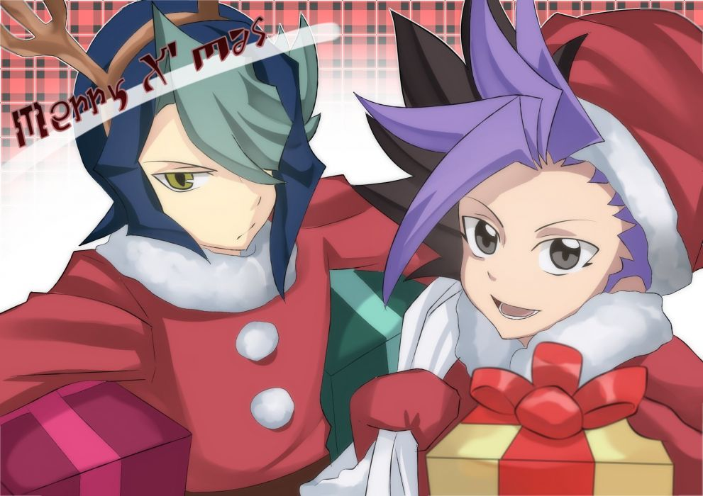 Yu-Gi-Oh! ARC-V Yuto (Yu-Gi-Oh! ARC-V) Kurosaki Shun Deer Ears wallpaper