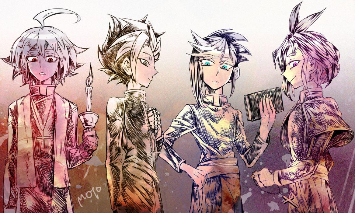 Yu-Gi-Oh! Yu-Gi-Oh! ARC-V Yuugo (Yu-Gi-Oh! ARC-V) Yuto (Yu-Gi-Oh! ARC-V) Sakaki Yuya wallpaper