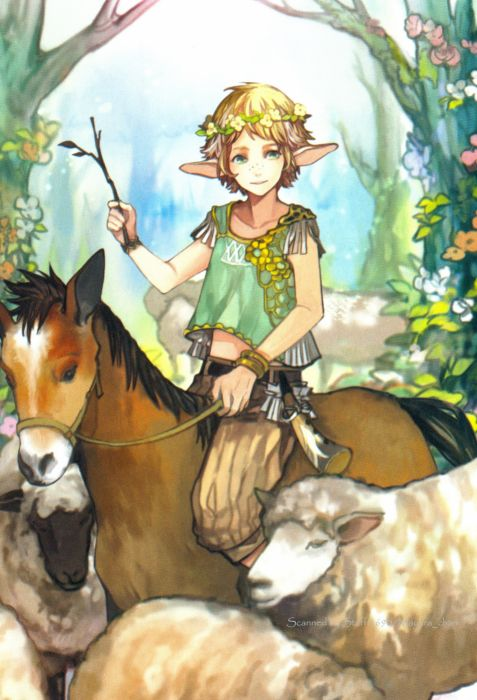 Chain Chronicle White Flower Freckles Orange Flower Yellow Flower Horse wallpaper