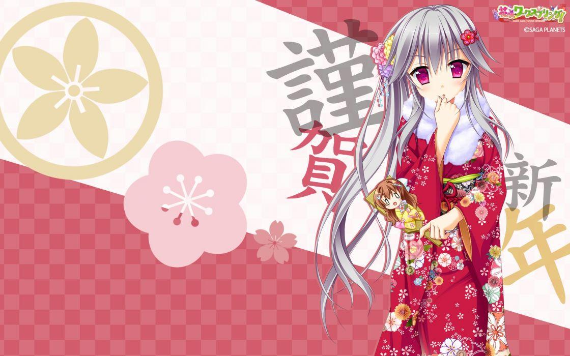Hanasaki Work Spring Hanasaki Nonoka Shiranui Inori Objectification wallpaper