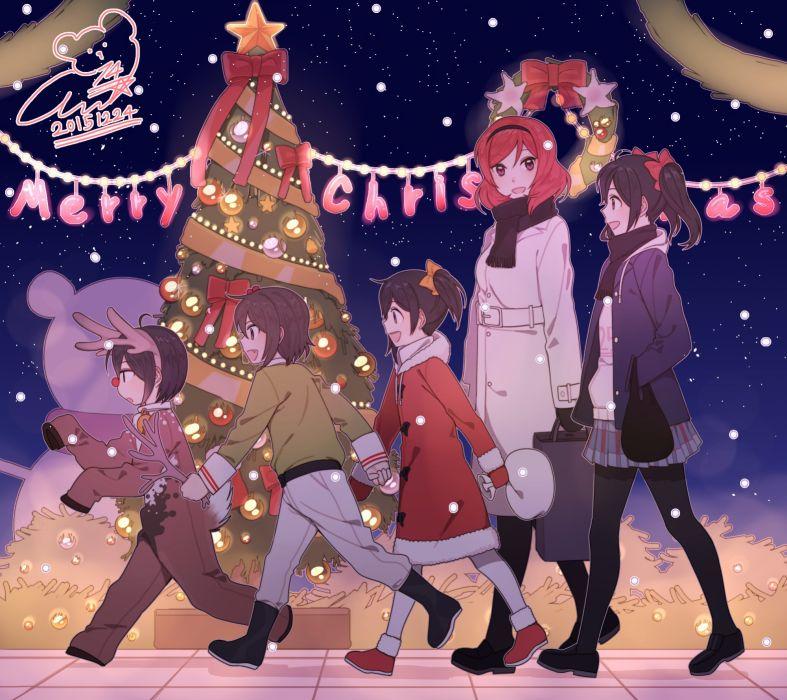 Love Live! Yazawa Kokoro Nishikino Maki Yazawa Kokoa Yazawa Niko wallpaper