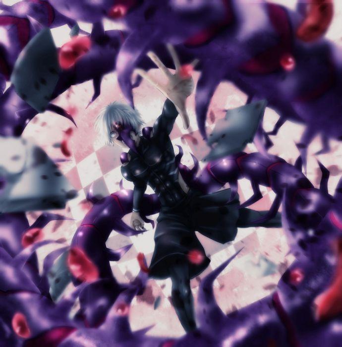 Tokyo Kushu Kaneki Ken Black Nails wallpaper
