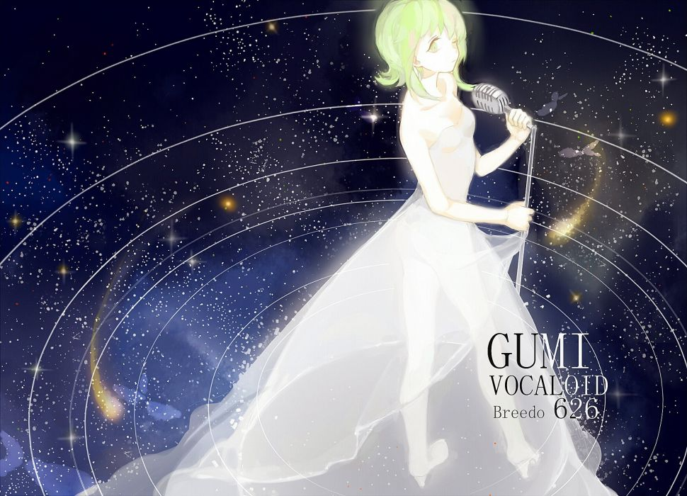 Vocaloid GUMI wallpaper
