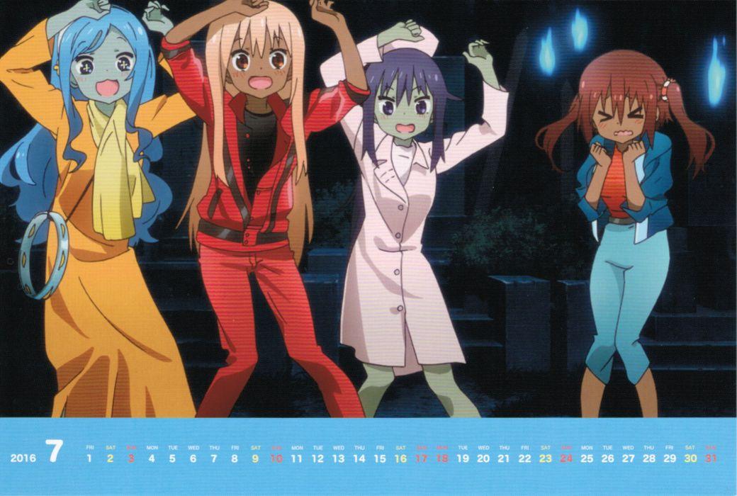Himouto! Umaru-chan Ebina Nana Doma Umaru Tachibana Sylphynford wallpaper