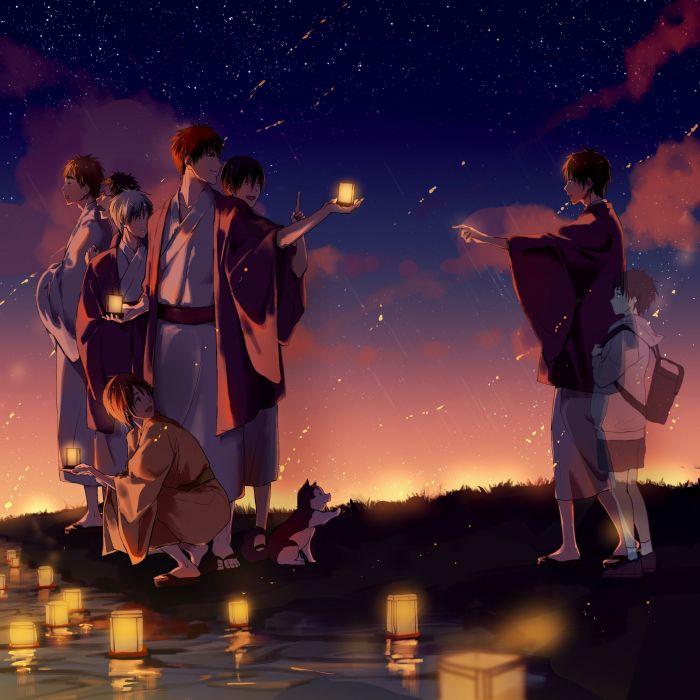 Kuroko no Basuke Tetsuya No 2 Kuroko Tetsuya Kiyoshi Teppei Izuki Shun wallpaper