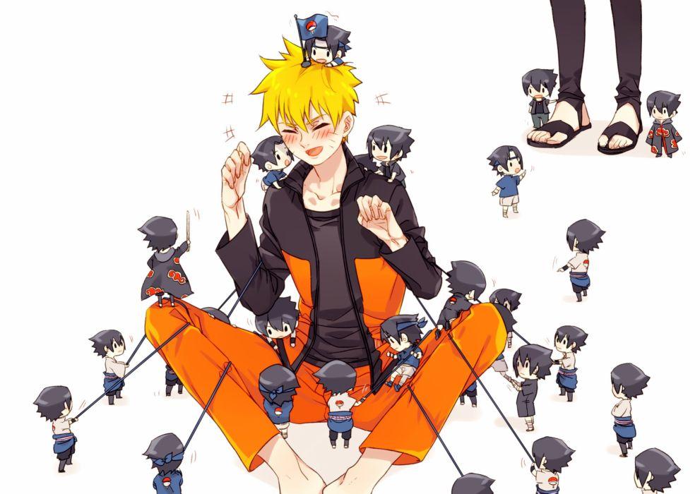 Naruto the Movie Road to Ninja NARUTO Uchiha Sasuke Uzumaki Naruto Akatsuki Uniform wallpaper