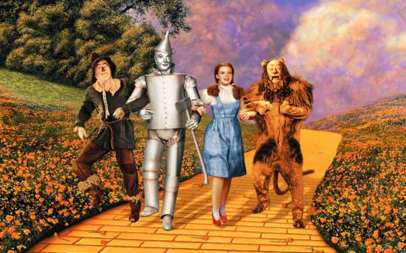 el mago de oz pelicula infantil fantasias wallpaper