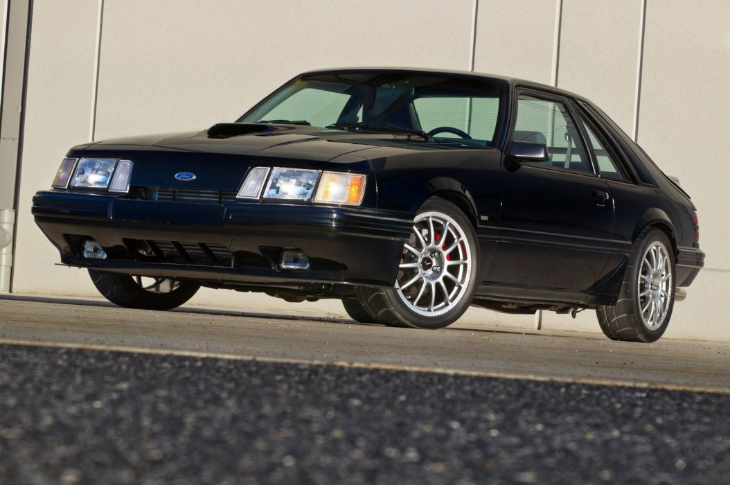 1986 Ford Mustang SVO muscle custom tuning wallpaper