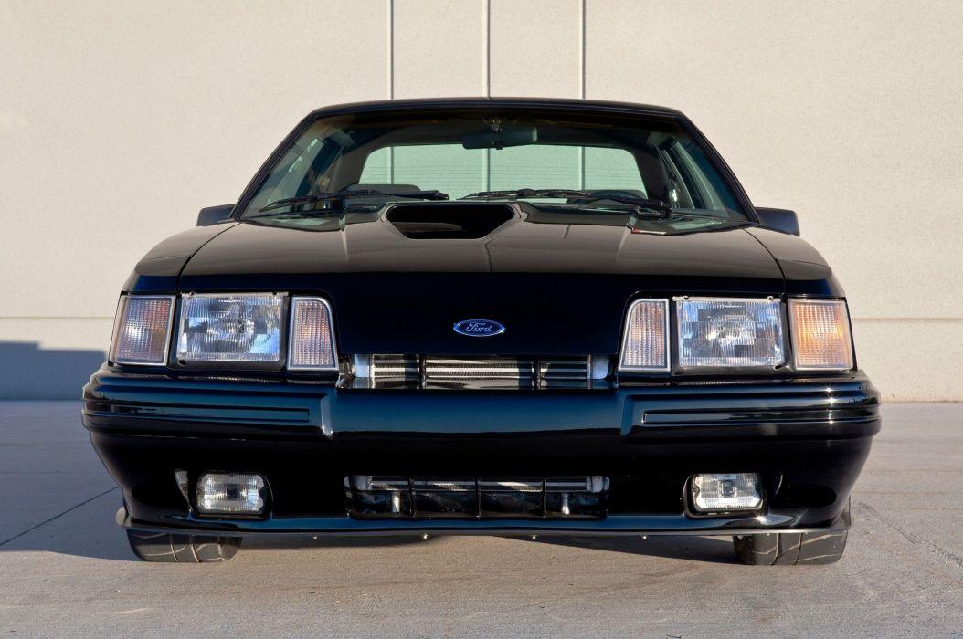 1986 Ford Mustang SVO muscle custom tuning wallpaper