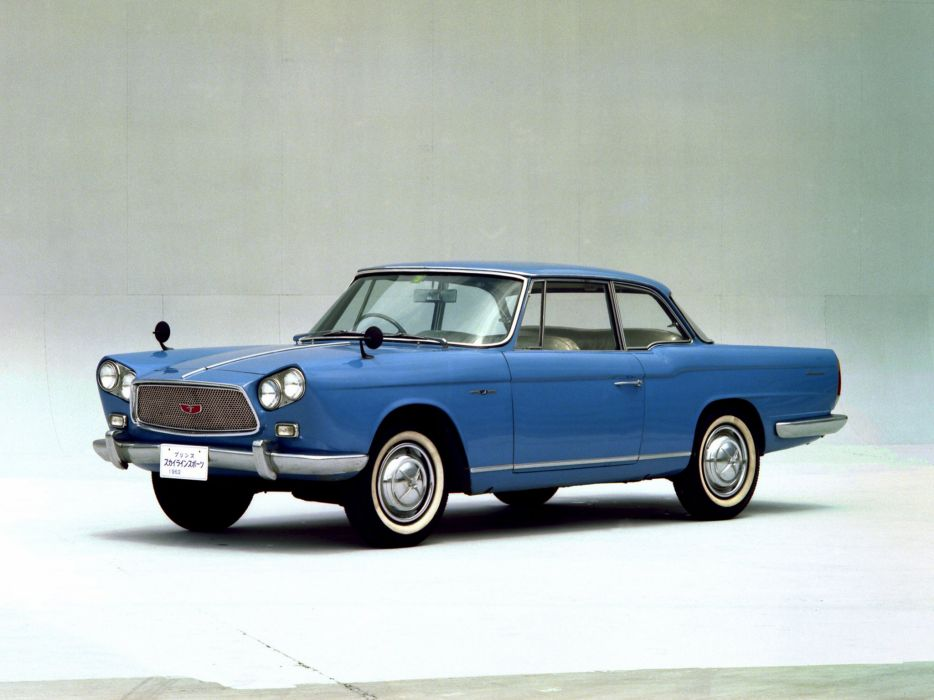 1961-63 Prince Skyline Sports Coupe BLRA-3 classic wallpaper