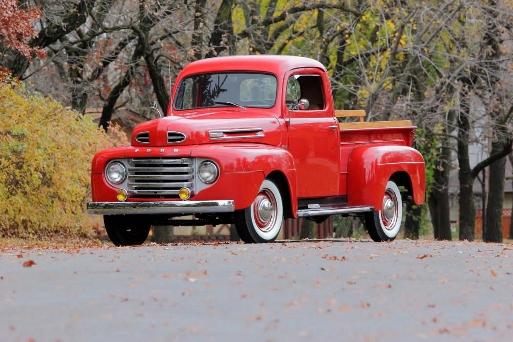1948aei50 Ford F-1 Pickup retro wallpaper