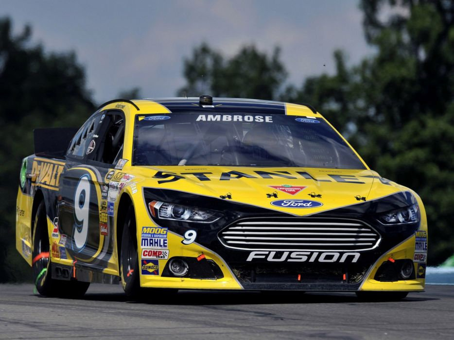 Ford Fusion NASCAR race racing custom wallpaper