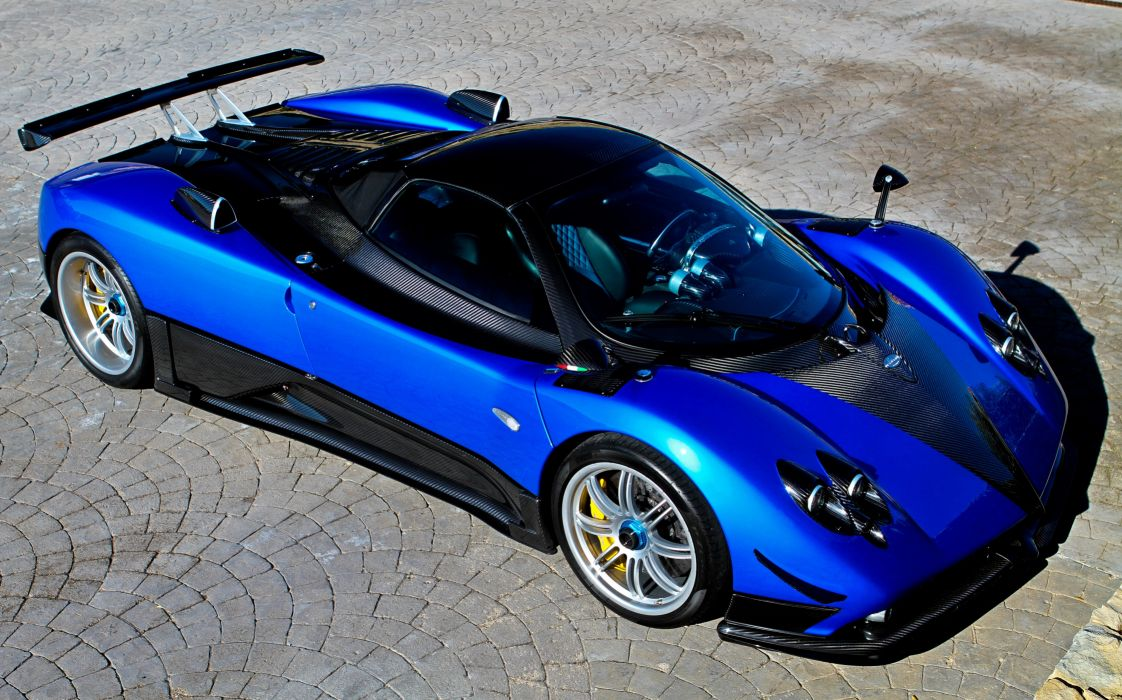 2011 Pagani Zonda H-H supercar wallpaper