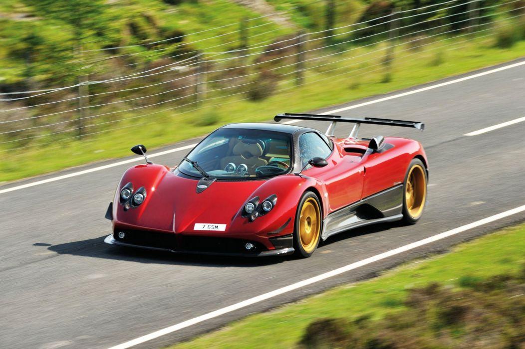 2005-11 Pagani Zonda F supercar race racing wallpaper