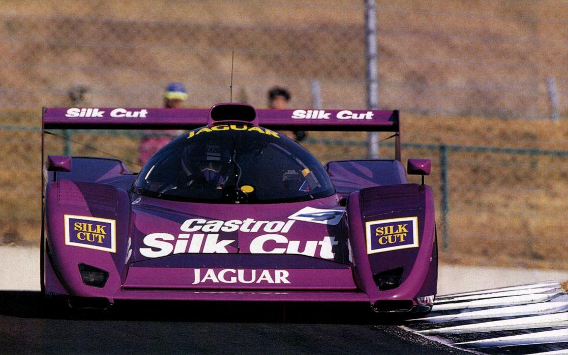1991 Jaguar XJR14 Le-Mans rally race racing lemans wallpaper