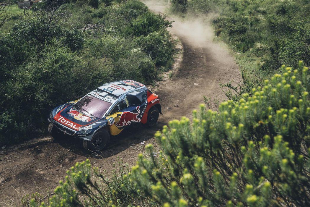 2016 Peugeot 2008 DKR16 dakar rally race racing desert offroad wallpaper