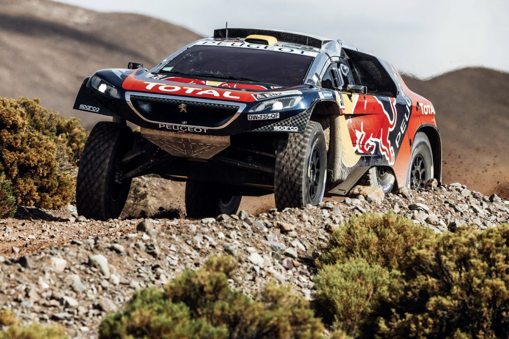 2016 Peugeot 2008 DKR16 dakar rally race racing desert offroad wallpaper