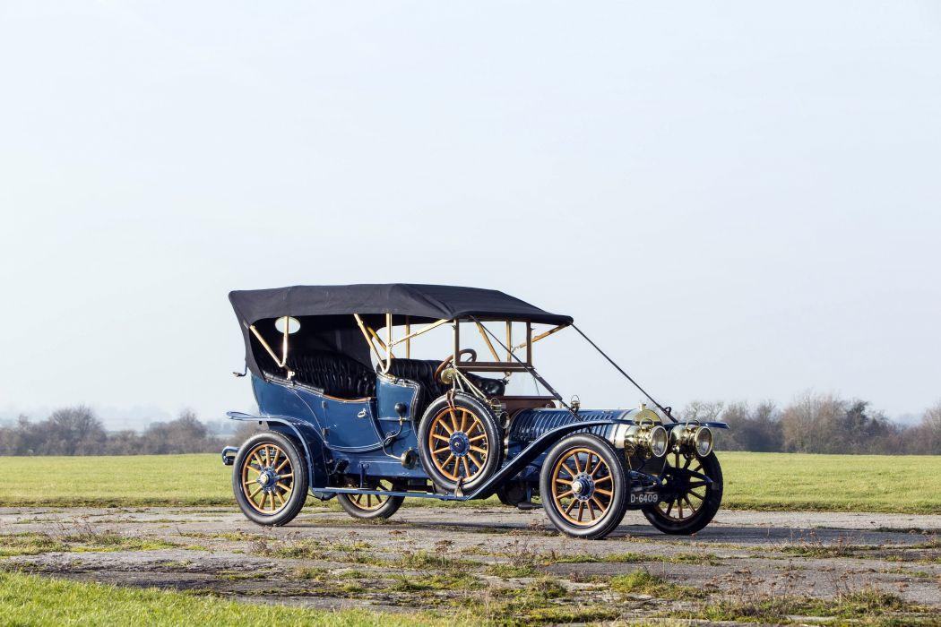 1910 Hotchkiss Type-X6 Roi-de-Belges Tourer luxury retro vintage wallpaper
