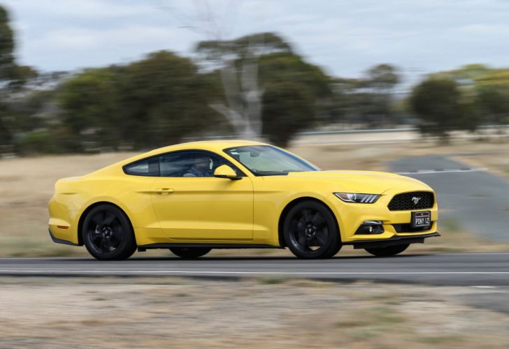2015 Ford Mustang EcoBoost Fastback AU-spec muscle wallpaper