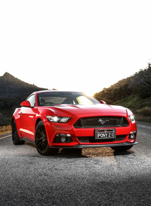 2015 Ford Mustang G-T Fastback AU-spec muscle wallpaper